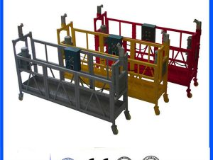 Movable pin - type electrical suspended access platform nga zlp800 single phase