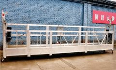 Galvanized Steel Gisuspenso nga Working Platform / Cradle / Swing Stages